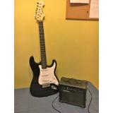 Vendo Guitarra Electrica Con Amplificador