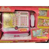 Caja Registradora De Barbie Intek Original