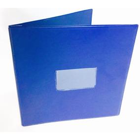 Carpetas Forma Continua Data 2 Carta Color Azul Mayka