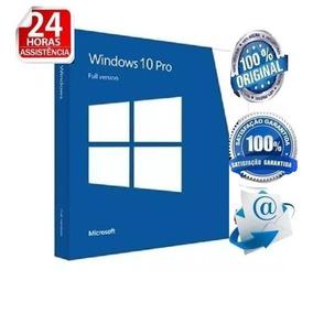 Windows 10 Pro Chave Key Licença Original Com Nota Fiscal