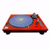 Face Plate (capa) Para Toca Discos Technics Mk2 Sl 1200 -par