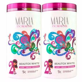 2 Btx White Maria Escandalosa 1 Kg - Redução De Volume