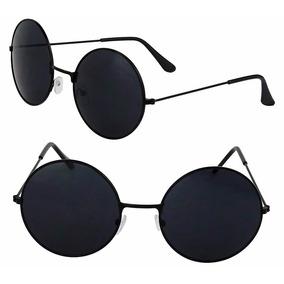 Oculos De Sol Redondo Ozzy - Lennon Lente De 4,5cm (45mm)