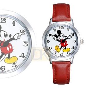 Reloj Mickey Mouse Disney. Correa Roja. Envío Gratis!