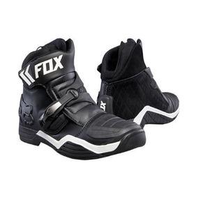 Botas Moto Fox Bomber Negra 8