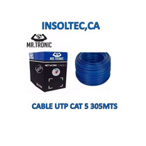 Cable Utp Cat 5 305mts
