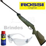 Espingarda Pressão Chumbinho 4.5 Rifle Rossi Dione Carabina