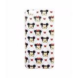 Capa P/ Celular Mickey E Minnie Xadrez Coração Samsung G530