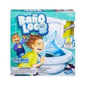 Juego De Mesa Baño Loco Gira La Ruleta Hasbro Original