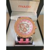Reloj Mulco Tachymeter Para Damas Nueva Edición Con Caja