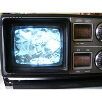 Antiguo Tv Radio Cassette Sharp Tri-mate 3t-59 Boombox