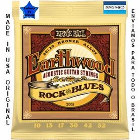 Ernie Ball 010-052 Violão Rock Blues 2008 Made Usa Original