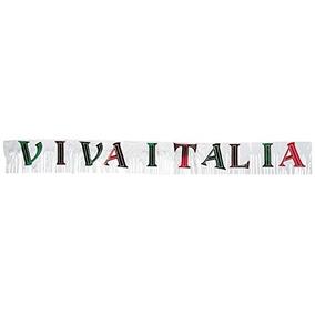 Metálico Viva Italia Banner Party Accessory (1 Cuenta) (1 /