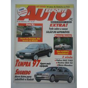 Auto Esporte #378 Ano 1996 Tempra Ford Ka Astra Porsche