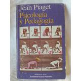 Psicología Y Pedagogía Jean Piaget Sudamericana