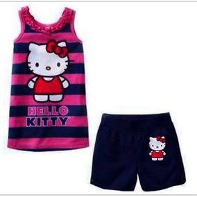 Sets Importado Gap Kitty 2p Remera Short Y Ropa Polo Disney