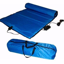 Manta Térmica Infravermelho Azul Estética 50 X 100 Cm 110v