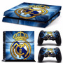 Ps4 Vinyl Skin Estampas Para Playstation 4 Real Madrid