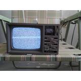 Tv Deluxe 5 Portable B/w Tv-am/fm Radio Año 1988 Hoy A Solo