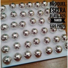 Broquel Bola De Plata 925 Taxco Mexico