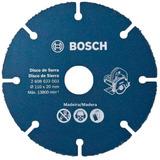 Disco De Serra Marmore Bosch Para Madeira 110mm