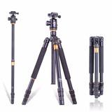 Tripode Profesional Q-999 Fibra De Carbono Nikon-canon-sony