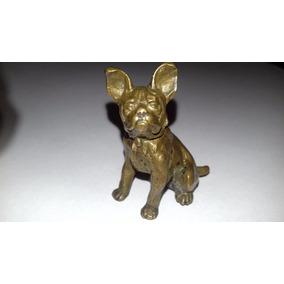 Pequeña Figura- Bronce Vienes Bulldog Frances