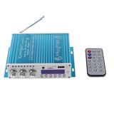 Amplificador Bass Booster Wingoneer Mp4 12 V De Soporte Fm/m