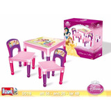 Mesa Con 2 Sillas Princesas Distribuidora Lv
