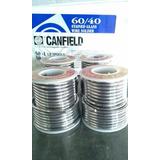 Rollo De Soldadura Canfield 60/40 Para Vitral
