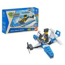 Compatible Lego Avión Policía Naval Gimpo 3 En 1 · Croak