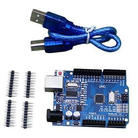 Arduino Uno R3 Compatible Con Mas Salidas Y Pines Adicionale