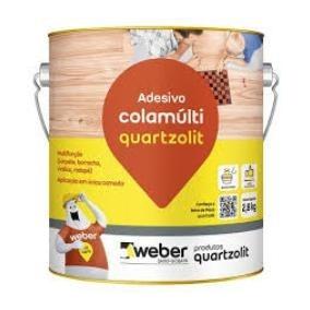 Cola Multi Uso Quartzolit Contato Carpete Vinilico 750g