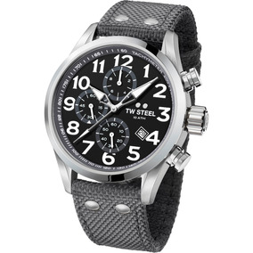 Tw Steel Volante 48mm Cronografo Acero Reloj Hombr Diego Vez
