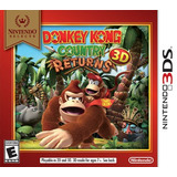 Donkey Kong Country Returns 3d Nuevo Y Sellado Físico