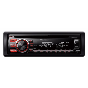 Som De Carro Pioneer Cd Player Deh 1750 Radio Aux Mp3 Usb
