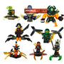 Figuras Compatibles Con Lego De Ninjago Y Accesorios