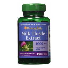 Milk Thistle 1000mg 180 Softgels Cardo Mariano Silimarina