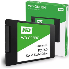 Disco Solido Ssd 120gb Wd Western Digital Green Chip Head