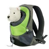 Mascotas Al Aire Libre Doble Bolso Mochila Perro Gato Viaje