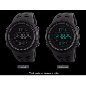 Relógio De Pulso Masculino Skmei 1251 Preto Esportivo Casual