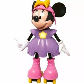 Boneca Minnie Patinadora Falante Elka