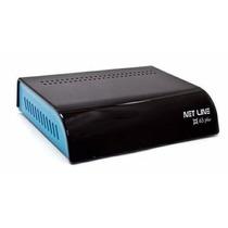 Net Line X65 Plus Para Tv A Cabo Usado Funcionando Perfeito!