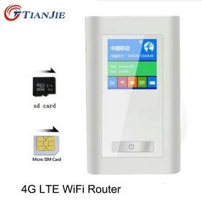 Roteador Wifi Para Chip De Celular 4g Compartilha Arquivos