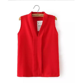Bl1241 Blusa Casual Roja, It Girls Colombia