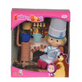 Muñeca Masha En La Cocina Juguete Niñas