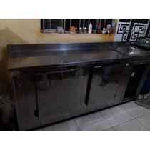 Freezer Balcão Com Pia Em Inox Duas Portas 220v !!!oferta!!!