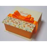 50 Caixas Convite Lembrancinha 15 Anos 10x10x4 Personalizada