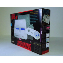 Novidade - Caixa Para Super Nintendo - Grátis Poster