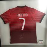 Playera Firmada Por Cristiano Ronaldo